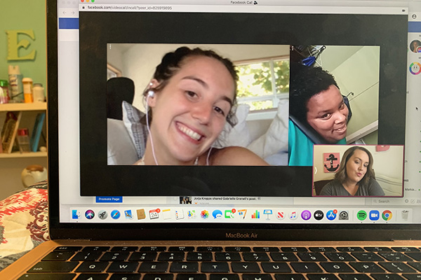 ADAPT theater video chat